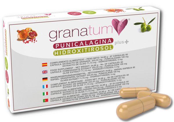 Punicalagina-e-hidroxitirosol